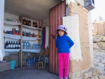 bambina boliviana