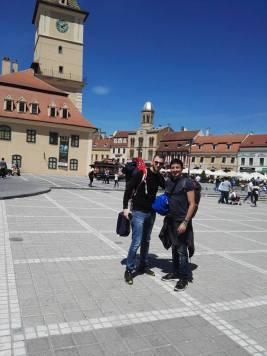 Io e Tommaso a Brasov