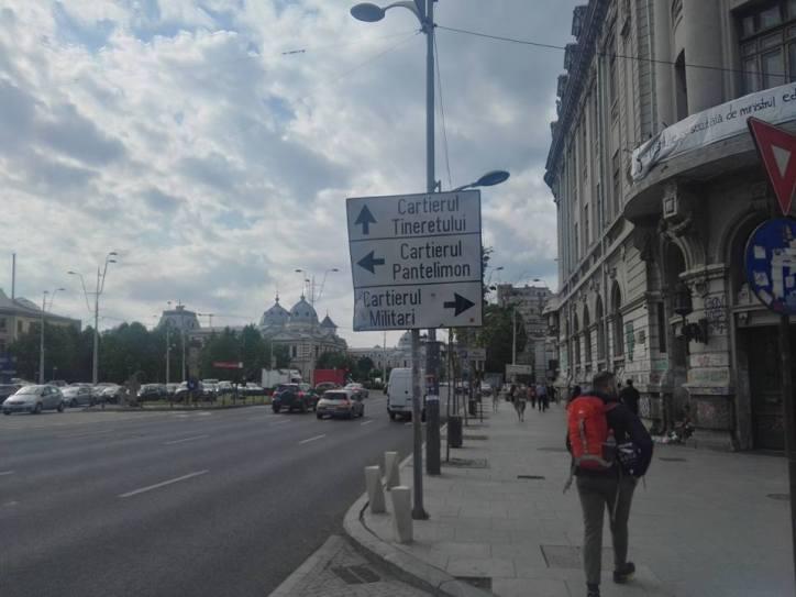 Bucarest zaino in spalla
