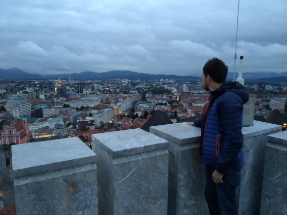 Vista dalla torre del castello