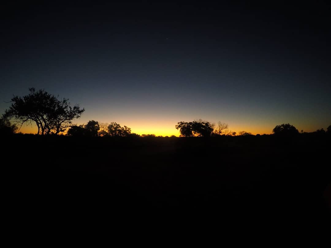 Tramonto nell'Outback